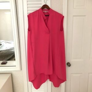 Rachel Roy High Low Flowing Dress with Pockets